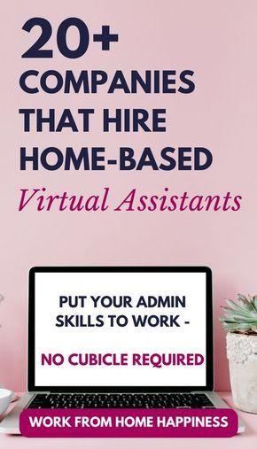20 Virtual Assistant Jobs Va Pinterest Virtual Assistant Jobs