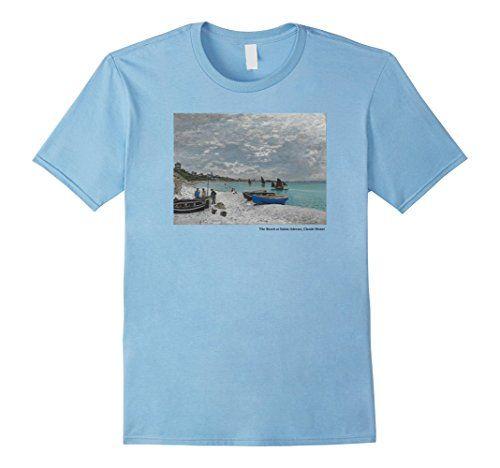 T-shirt The Beach at Sainte-Adresse by Claude Monet . https://www.amazon.com/dp/B01MT8OLV1/ref=cm_sw_r_pi_dp_x_IBlGyb180V5FC