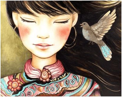 La donna-medicina è colei che vede la vita con amore e bontà, con cui cura tutto