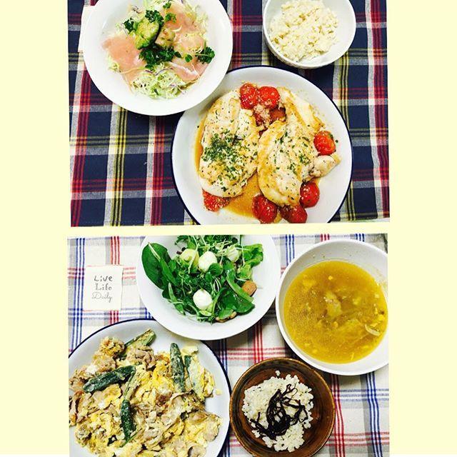 毎日夕ご飯を作っています🍴⭐️ 簡単なものなら続けられますね🐣  あしたは早いのでそろそろ寝ます! あ、でも、ブラックリスト観てから寝よう、、! http://blog.livedoor.jp/yumekana1993/  #ゆめかなkitchen #いつもありがとう #ブラックリスト #自炊  ゆめかなyumekana1993