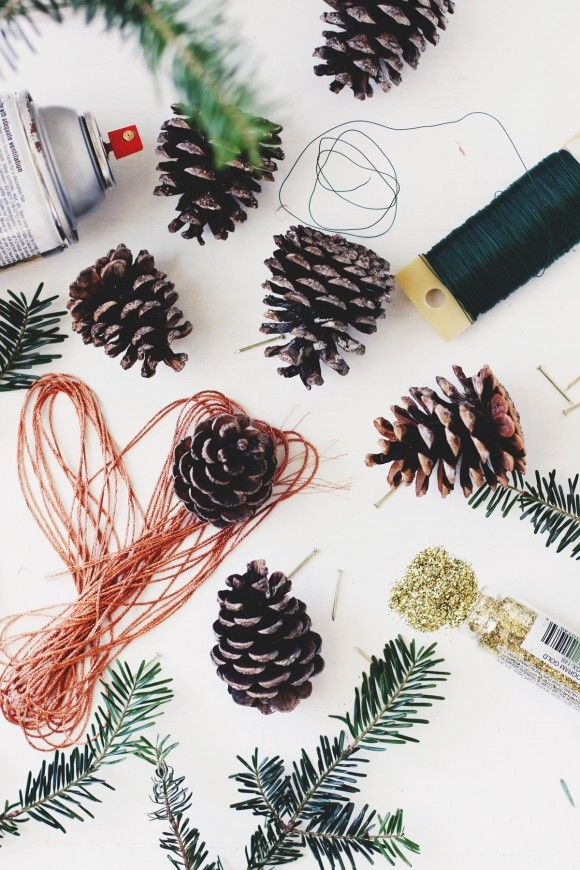 Creating Your Own Traditions: DIY Pinecone Ornaments