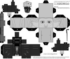 Cubee - 1st Doctor 'B-W' by CyberDrone