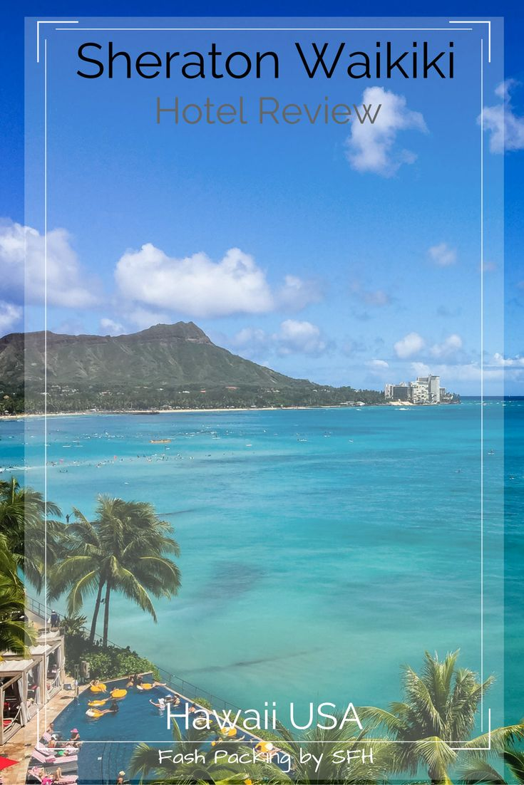 Dreaming of Hawaii? The Sheraton Waikiki should be on your short list of luxury Oahu hotels. It is amazing!