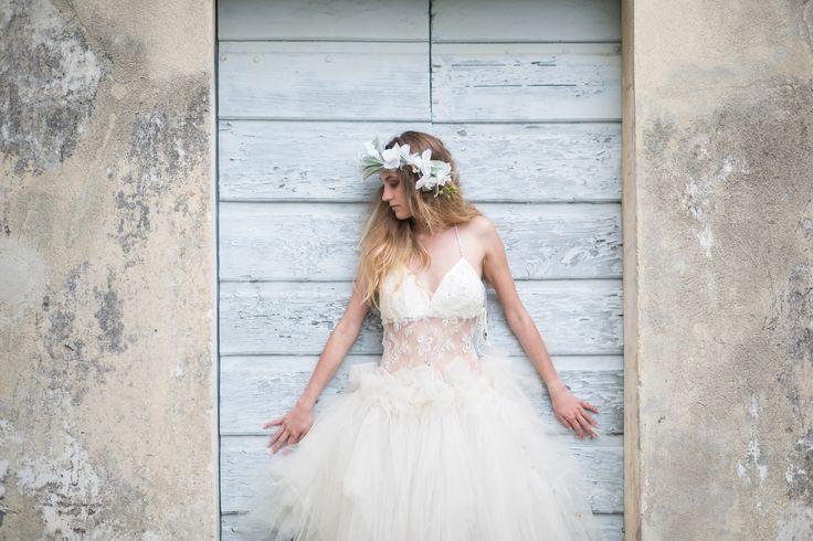 Robe de mariée féerique Stella de Brigitte Mattei  Mariage, Brides ...