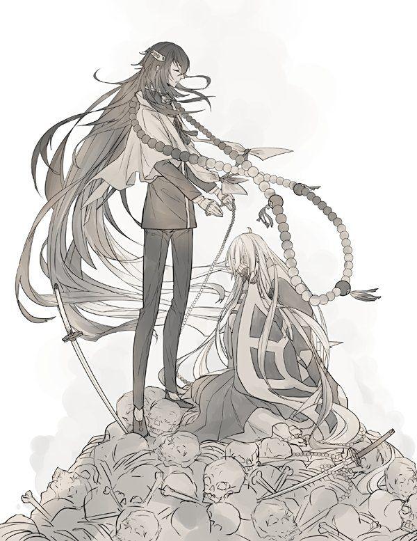 Anime Character 777 : Ceiixwzwwaahjd g touken ranbu pinterest