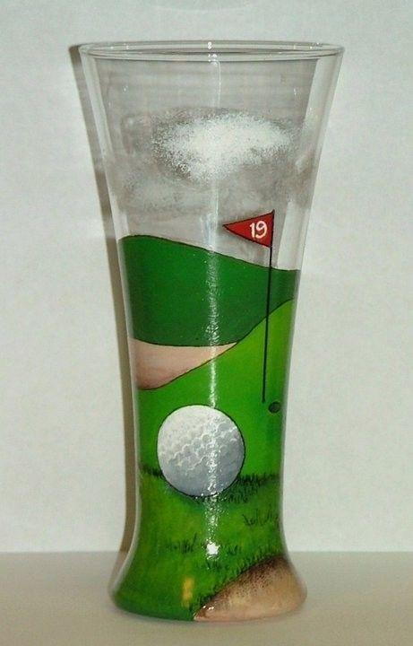 19th Hole glass