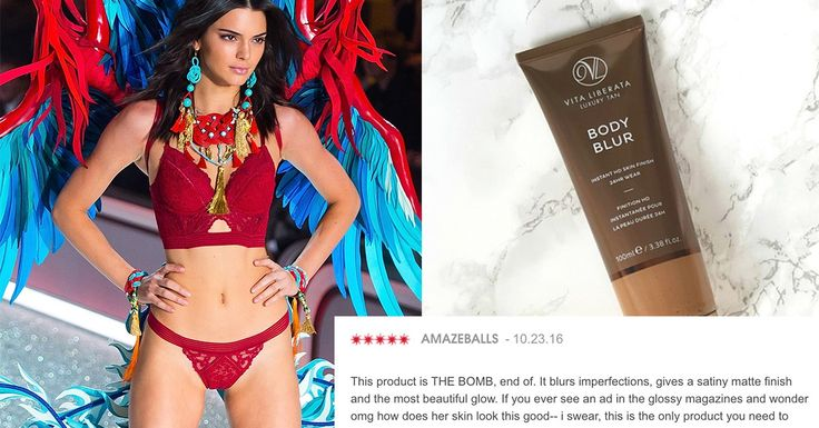 The Body Bronzer the Victoria's Secret Models Used at the VS Fashion Show Has Insane Reviews on Sephora | Glamour