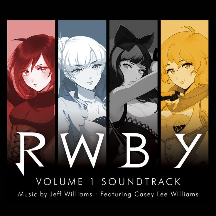 RWBY Volume 1 Soundtrack: 2 CD Set SO WANT THIS!!! :)