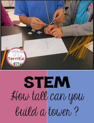 Just how tall can you build a tower using fragile supplies? Sketch first, plan, assign jobs, and get busy! A STEM Class favorite challenge!