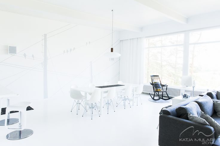 White Interior. Katin Kokeelliset Remontit: kesäkuu 2014