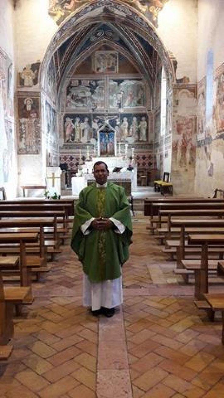 Il nuovo parroco Roberto Crisogianni di Vallo di Nera arriva il 2 ottobre a Piedipaterno