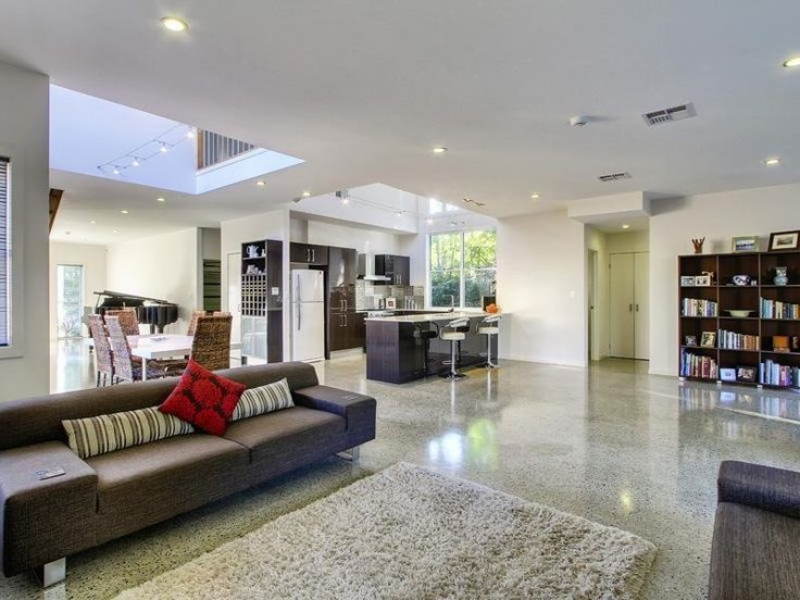 Results for polished concrete floors