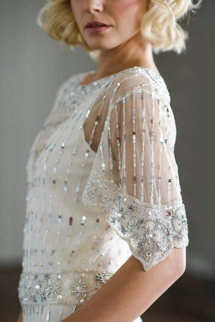 Best 25 1920s wedding dresses ideas on pinterest art deco vicky rowe 1920s and 1930s style beaded and intricately embellished wedding dresses ombrellifo Gallery