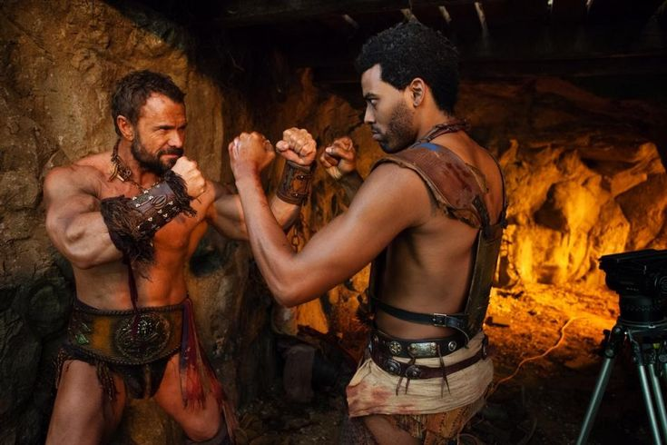 Barry Duffield and Kelvin Taylor, Spartacus: Blood and Sand, 2010