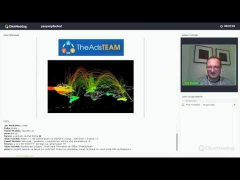 Piotr Tumidajewicz - Blog : TheAdsTeam webinar