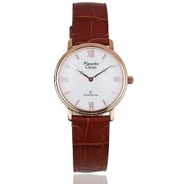 Alexandre Christie Ladies Classic Vintage Watch 8342 LHBRGSL