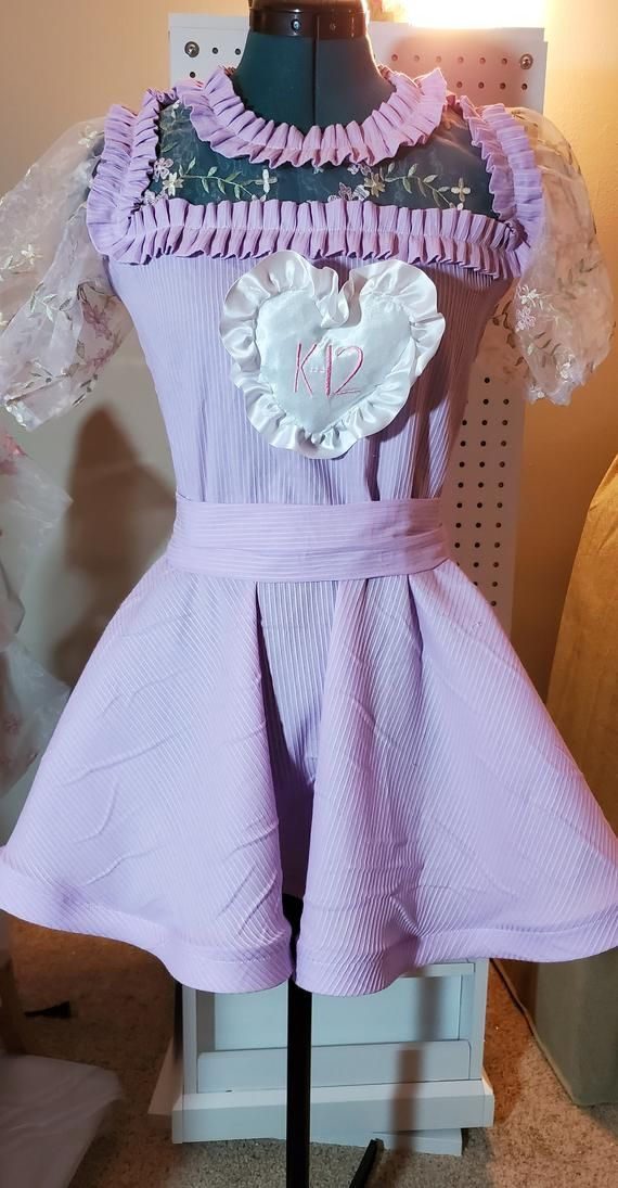 Purple Uniform Dress Melanie Martinez Outfits Melanie Martinez Dress Melanie Martinez Style