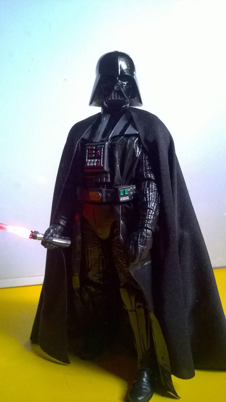 Darth Vader Black Series Custom 08