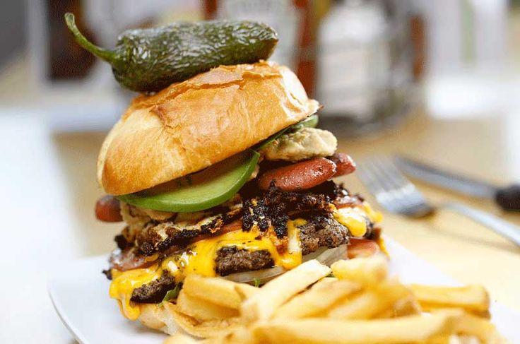 Cubano Burger | Crave Restaurant ~ YES!!!!!