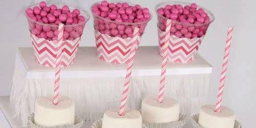 Chevron Pink Birthday Party Theme