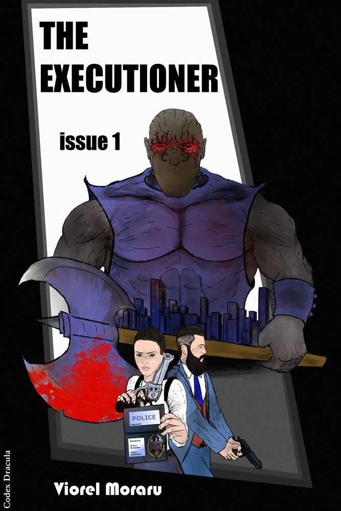 The Executioner issue 1 - indie comic book