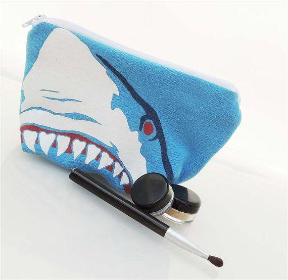 shark makeup bag $12. PLEASE!!!!