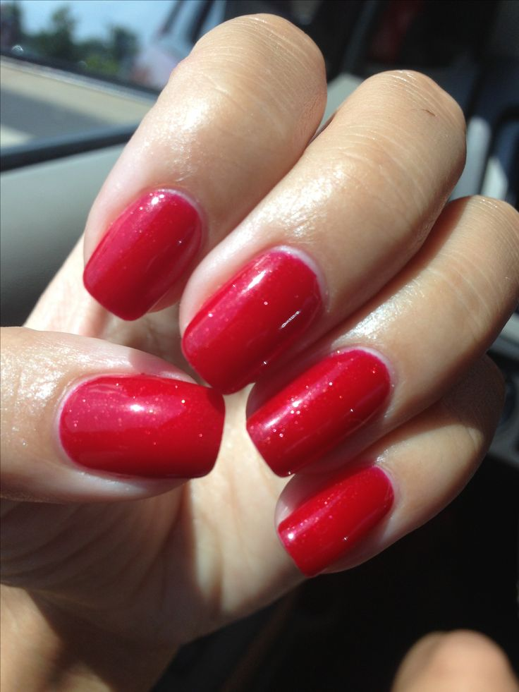 Best 25+ Red Shellac Nails Ideas On Pinterest