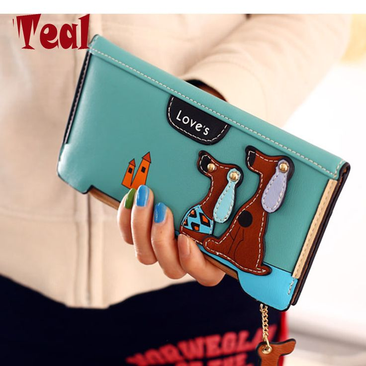 Cute Cartoon Fashion Cute Puppy Zipper Long Wallet Cartoon Dog 6 Colors PU Leather Women Wallets Ladies Clutch Card Holder -  http://mixre.com/cute-cartoon-fashion-cute-puppy-zipper-long-wallet-cartoon-dog-6-colors-pu-leather-women-wallets-ladies-clutch-card-holder/  #Wallets