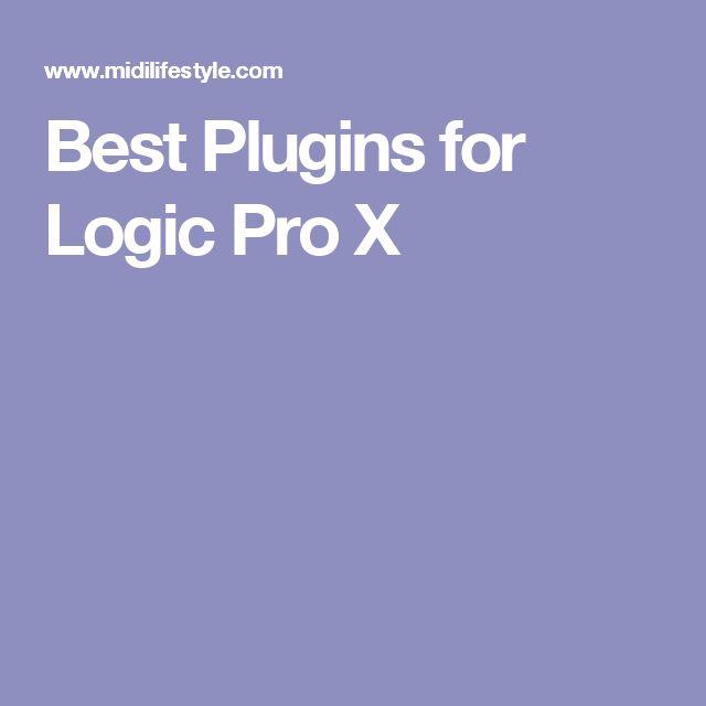 Best Plugins for Logic Pro X