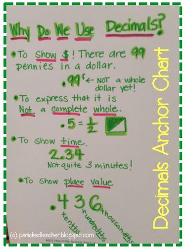 25+ best ideas about Teaching decimals on Pinterest | Place value ...