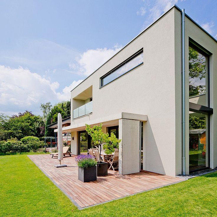 145 besten Cube Haus Bilder auf Pinterest Moderne häuser, Cube - terrasse hanglage modern