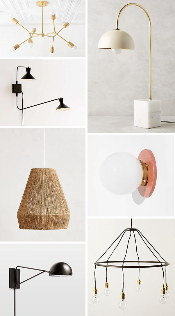 Check our these 46 cool light fixtures to help combat the end of daylight savings. There's so many good lighting options in this roundup - from pendant lights and sconces to table and floor lamps. Lots of Etsy finds too! #lighting #modern #homedecor #lightfixture