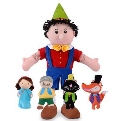 Pinocchio - Hand & Finger Puppets