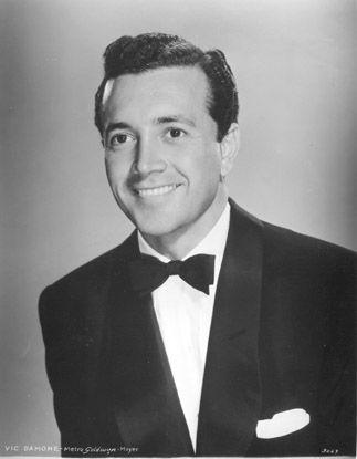 Vic Damone  (12.06.1928~11.02.2018) pop crooner & nightclub singer, aged 89