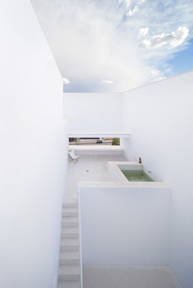 Casa Raumplan à Madrid par l'agence d'architecture Alberto Campo Baeza - Journal du Design