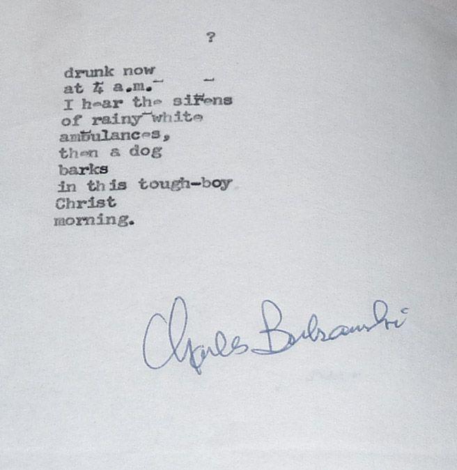 writers similar to bukowski