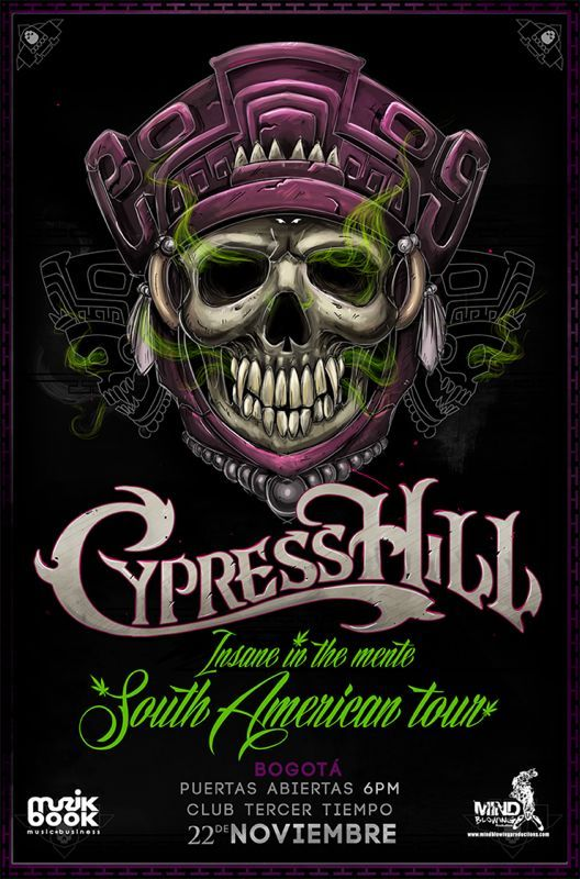 Cypress Hill - Insane in the Mente, South American Tour