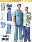 S4101 SCRUBS MEN Women Size BB XL-XXL-XXXL Simplicity Sewing Pattern - pattern, S4101, Scrubs, sewing, simplicity, size, women, XLXXLXXXL