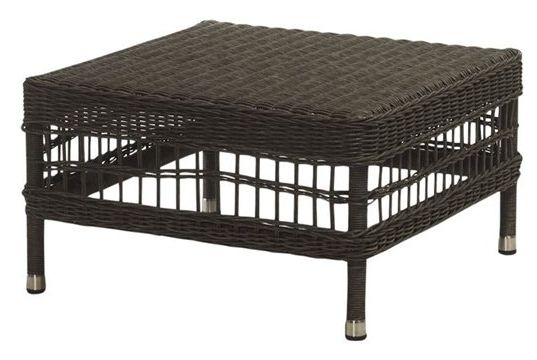 Rattan Coffee Table/ Footstool - £250.00 - Hicks and Hicks