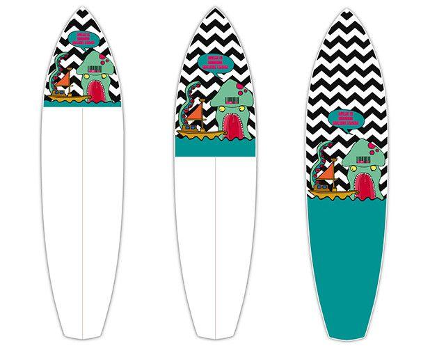 What's Kraken   CTRL V   Surfboard Customisation   Surfboard Wall Art   Surfboard decals   Surfboard Designs