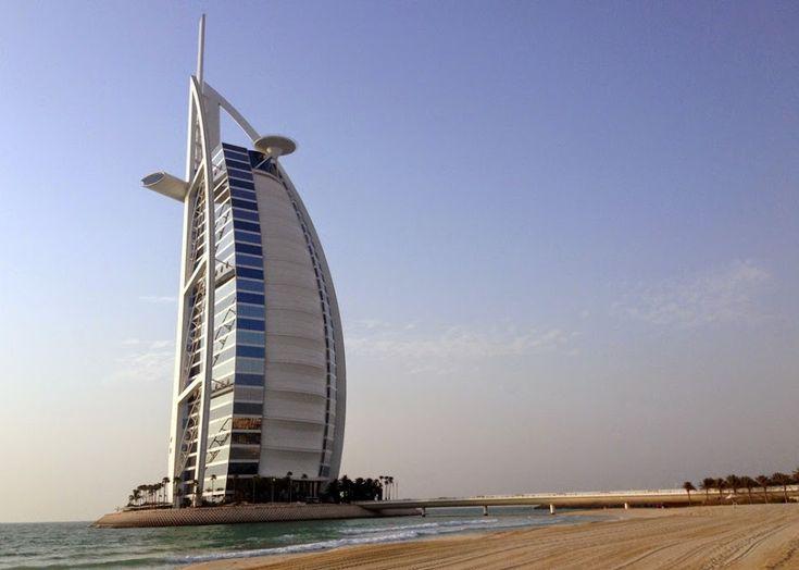 Burj Al Arab, Dubai's iconic hotel. Find more pics in the article