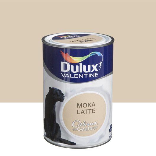 Peinture multisupports Crème de couleur DULUX VALENTINE, brun moka latte, 1.25 L