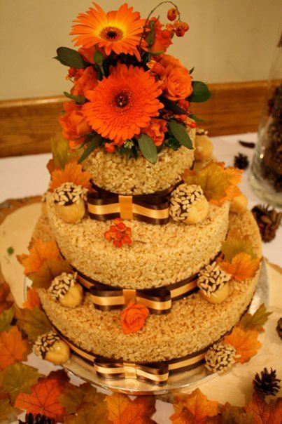 Rice Krispie Wedding Cakes Rice Krispie Wedding Cake My Favorite