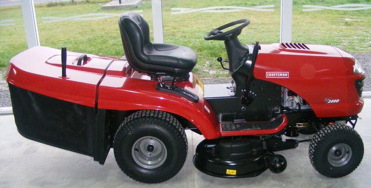 Craftsman riding lawn mower - Yard Landscaping Ideas Design