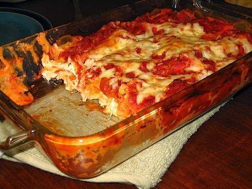 Chicken Lasagna Recipe ~ Fastdeliciousdishes