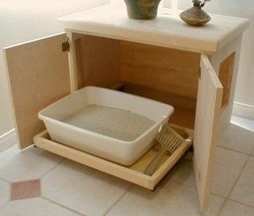 nice litter cabinet-how awesome would this be??