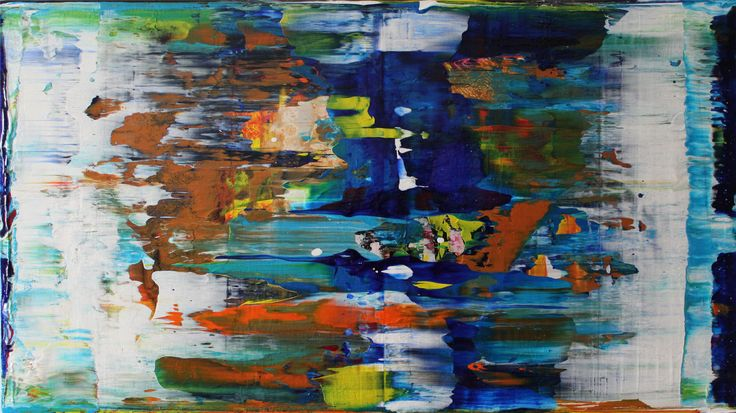new vision  acrylic painting on canvas 100 cm x 70 cm NO.305/16