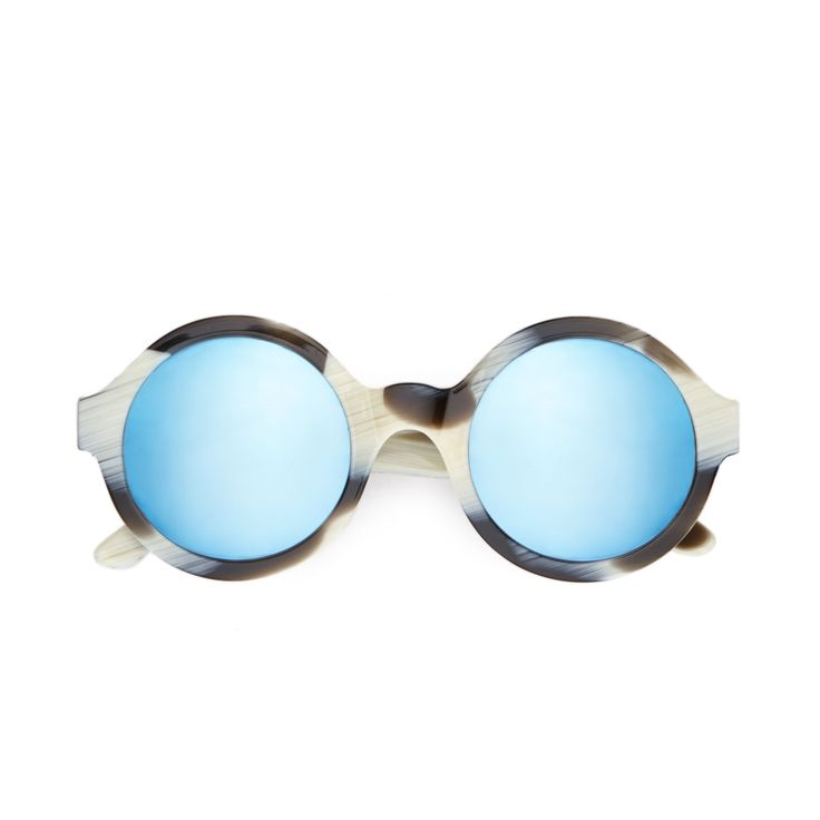 FWSS To are round-frame acetate sunglasses with Carl Zeiss Vision lenses. Handmade in Italy.  #round #sunglasses #handmade #fwss