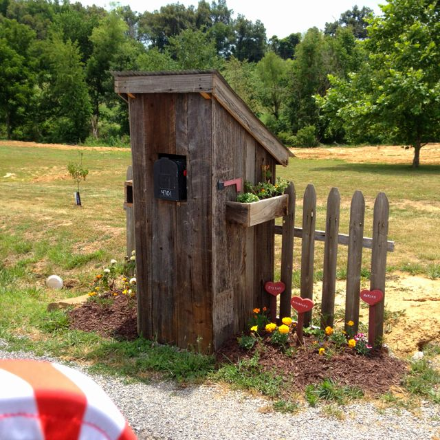 Outhouse Mailbox