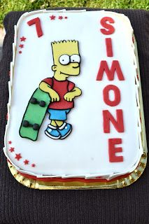 Torta Bart Simpson | Dolce come una caramella
